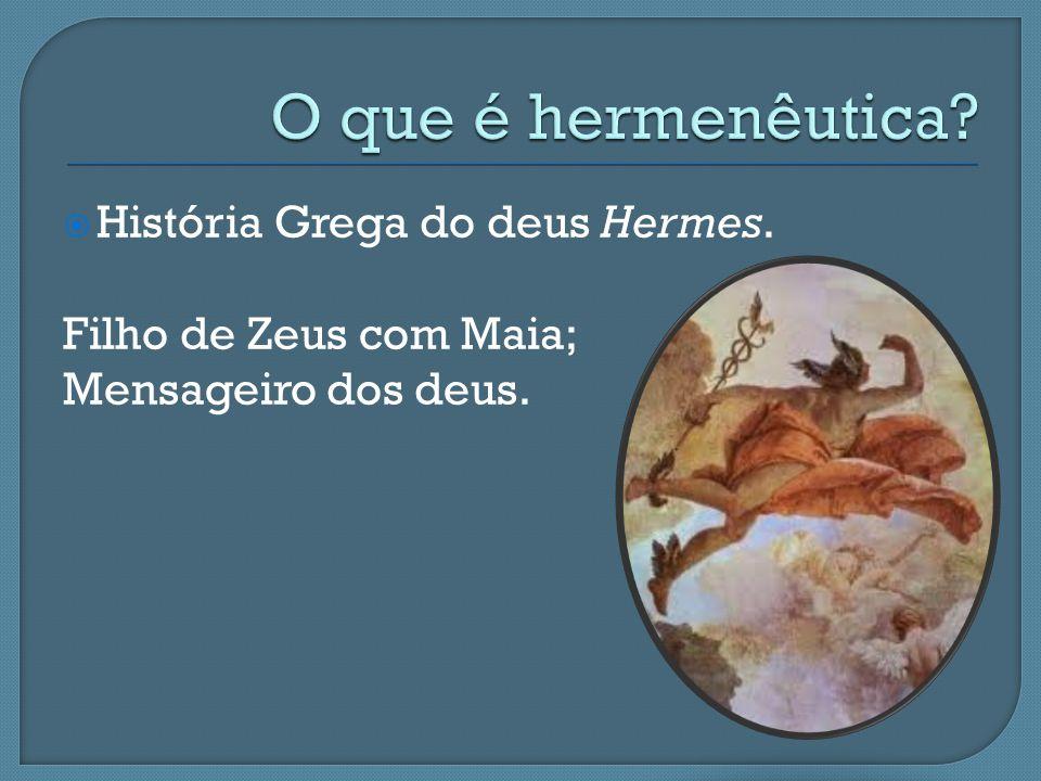  História Grega do deus Hermes. Filho de Zeus com Maia; Mensageiro dos deus.