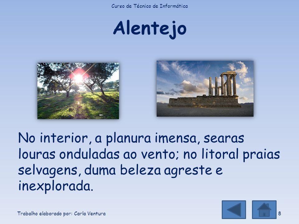 Algarve O litoral do extremo sul de Portugal, onde as águas são mais quentes e serenas; No Algarve abandona-se o stress; O Algarve faz bem à saúde, repõe o equilíbrio natural, reconcilia-se com a vida.