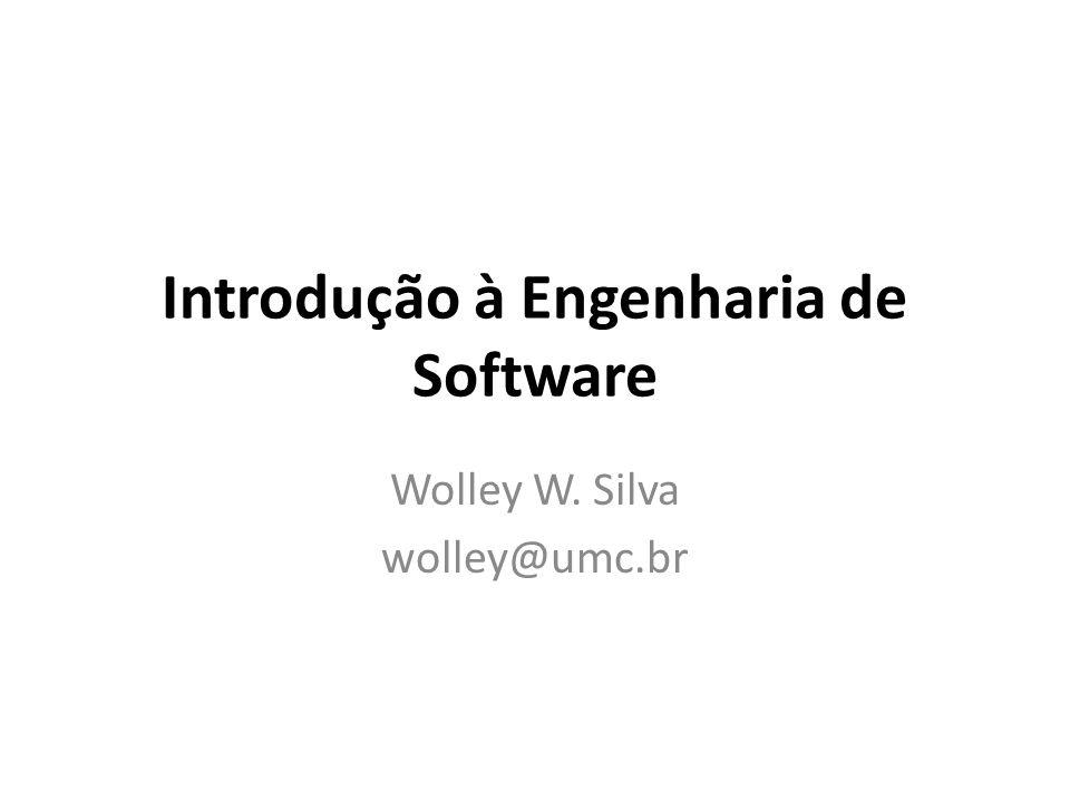 Conclusão A engenharia de software engloba processos, métodos e ferramentas que possibilitam a construção de um sistema complexo dentro do prazo e com qualidade.