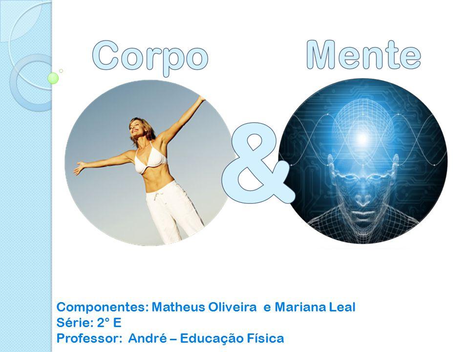 Componentes: Matheus Oliveira e Mariana Leal Série: 2° E Professor: André – Educação Física