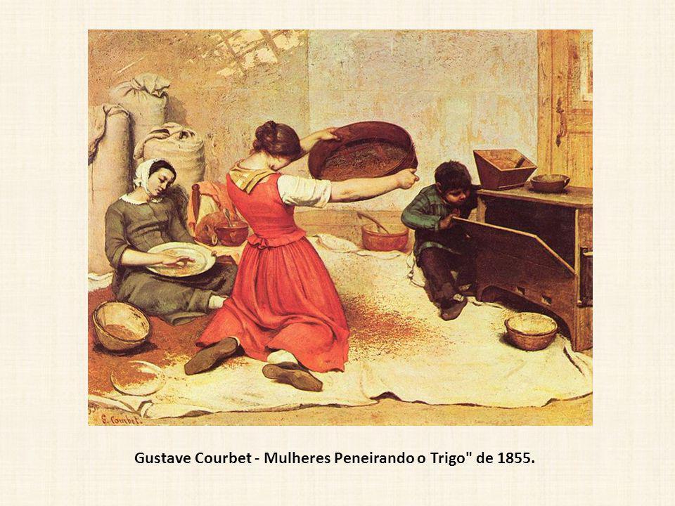 Gustave Courbet - Mulheres Peneirando o Trigo