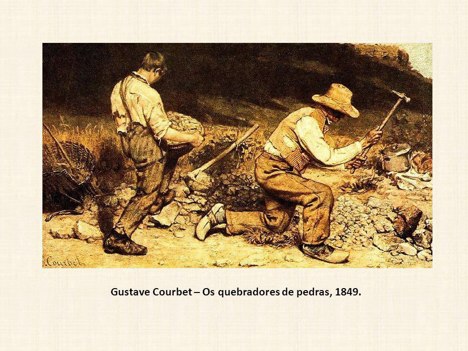 Gustave Courbet – Os quebradores de pedras, 1849.
