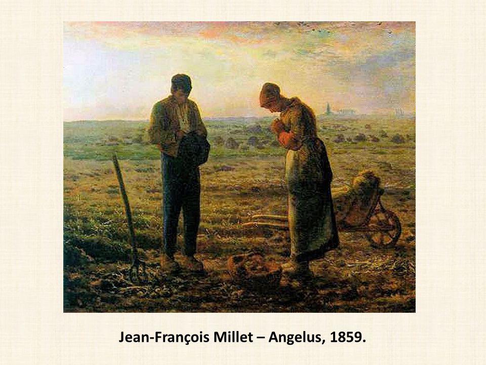 Jean-François Millet – Angelus, 1859.