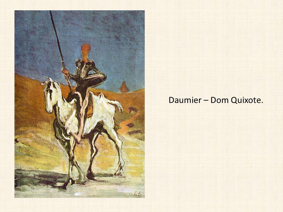 Daumier – Dom Quixote.