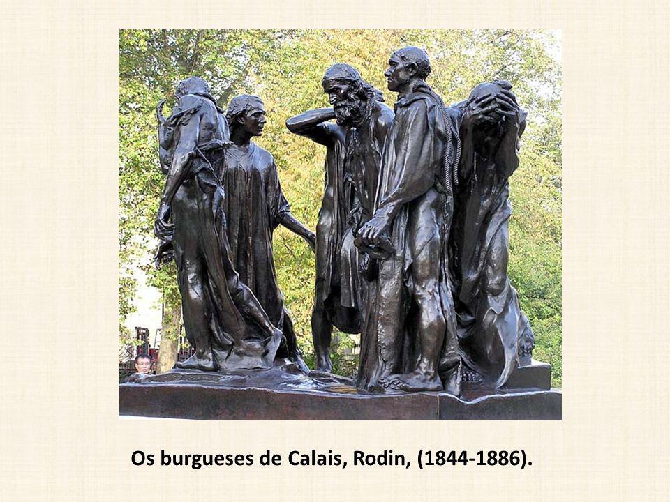 Os burgueses de Calais, Rodin, (1844-1886).