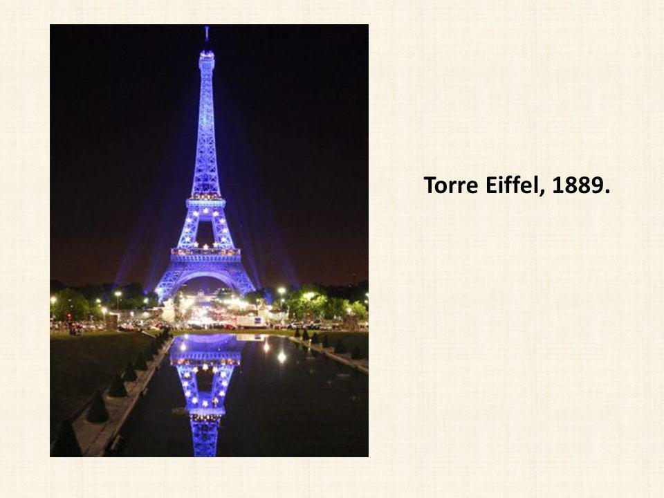 Torre Eiffel, 1889.