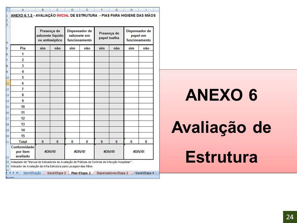 ANEXO 6 Avaliação de Estrutura ANEXO 6 Avaliação de Estrutura 24