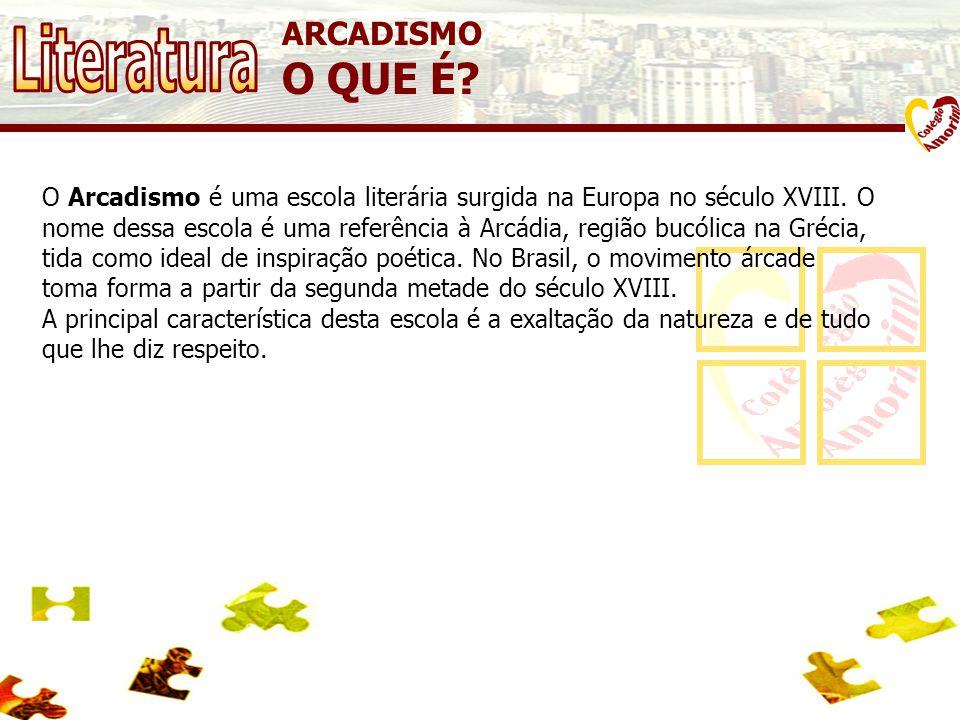 ARCADISMO O QUE É.O Arcadismo é uma escola literária surgida na Europa no século XVIII.