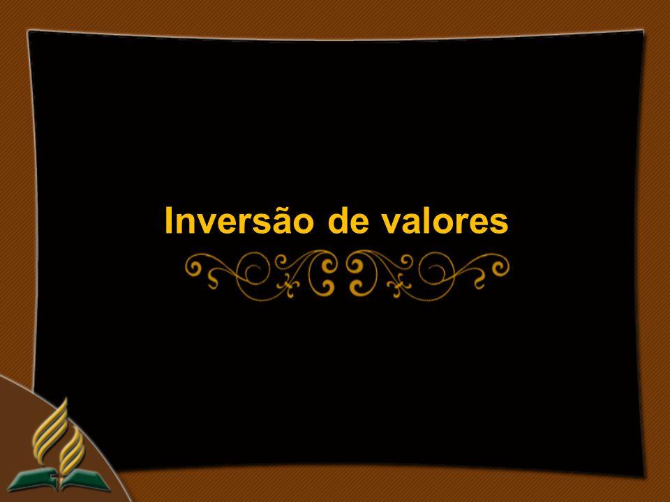 Inversão de valores