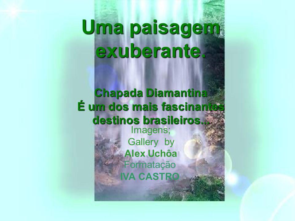 Uma paisagem exuberante.Chapada Diamantina É um dos mais fascinantes destinos brasileiros...