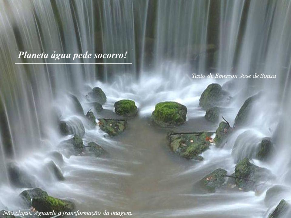Texto de Emerson Jose de Souza Planeta água pede socorro.