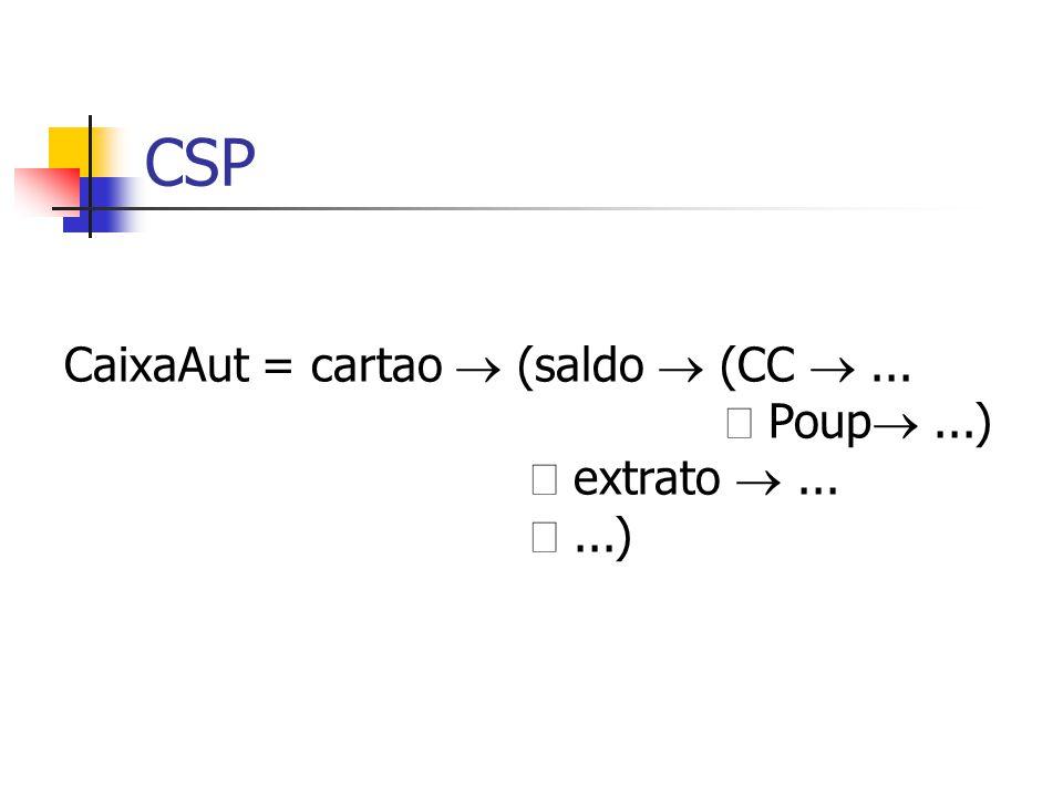 CSP CaixaAut = cartao  (saldo  (CC ... Poup ...) extrato ......)