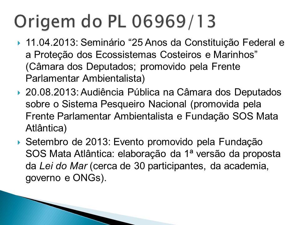 """ 11.04.2013: Seminário """"25 Anos da Constituição Federal e a Proteção dos Ecossistemas Costeiros e Marinhos"""" (Câmara dos Deputados; promovido pela Fre"""