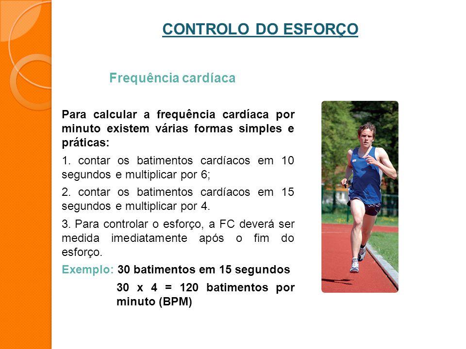 Frequência cardíaca Para calcular a frequência cardíaca por minuto existem várias formas simples e práticas: 1. contar os batimentos cardíacos em 10 s
