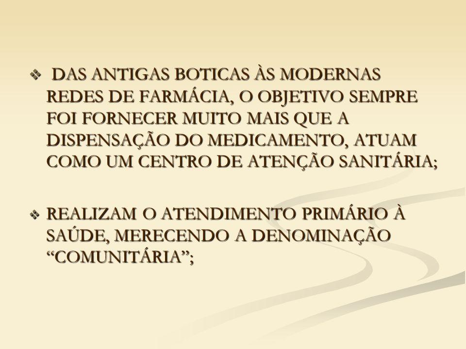 FARMÁCIA POPULAR DO BRASIL  PRESTA ATENDIMENTO TANTO À REDE SUS, QUANTO À PRIVADA, ONDE O MUNICÍPIO INTERESSADO FAZ UMA PROPOSTA DE ADESÃO JUNTO AO MS; SÃO ENVIADOS RECURSOS PARA REFORMAS E ADAPTAÇÃO DO IMÓVEL E POSTERIORMENTE PARA MANUTENÇÃO, POSSUINDO FARMACÊUTICO EM TODO HORÁRIO DE FUNCIONAMENTO.