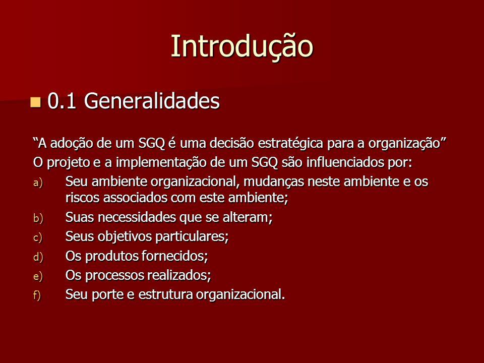 4.2.3 Controle de Documentos Os documentos requeridos pelo SGQ devem ser controlados.