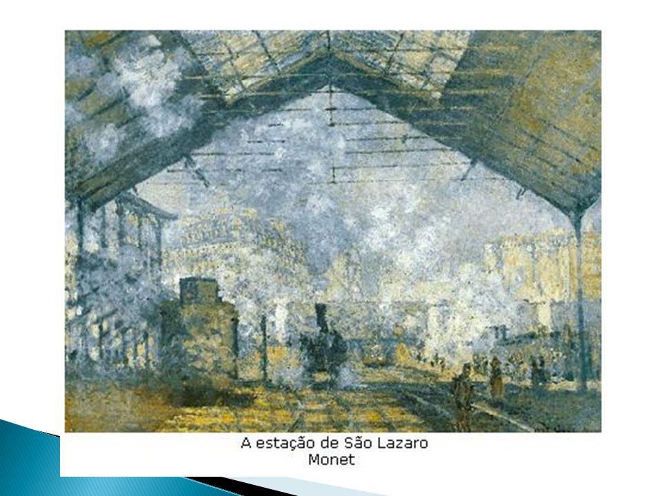 Principais artistas: - Claude Monet; - Auguste Renoir; - Edgar Degas; - Georges Seurat; - Eliseu Visconti.