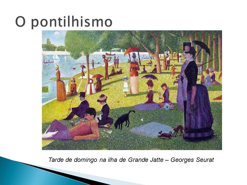 Tarde de domingo na ilha de Grande Jatte – Georges Seurat