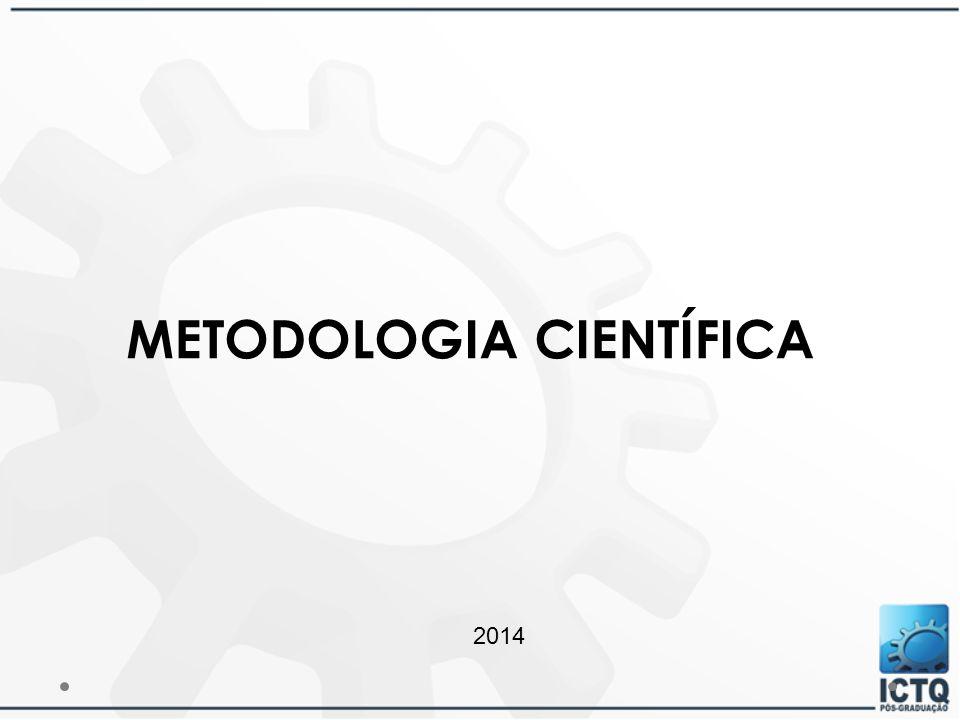METODOLOGIA CIENTÍFICA 2014