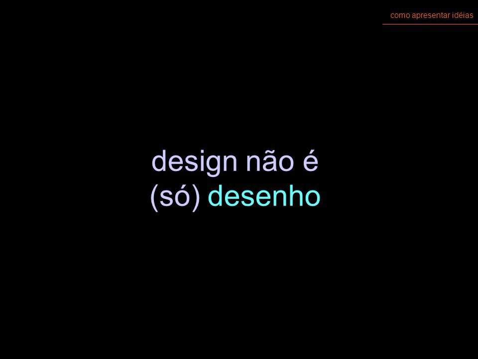 como apresentar idéias design gráfico