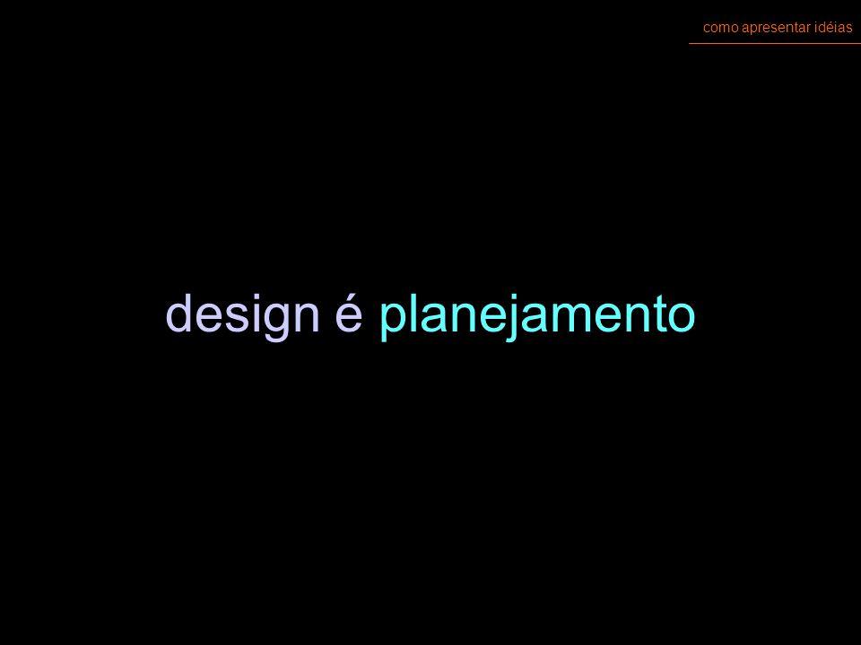 como apresentar idéias design não é (só) desenho