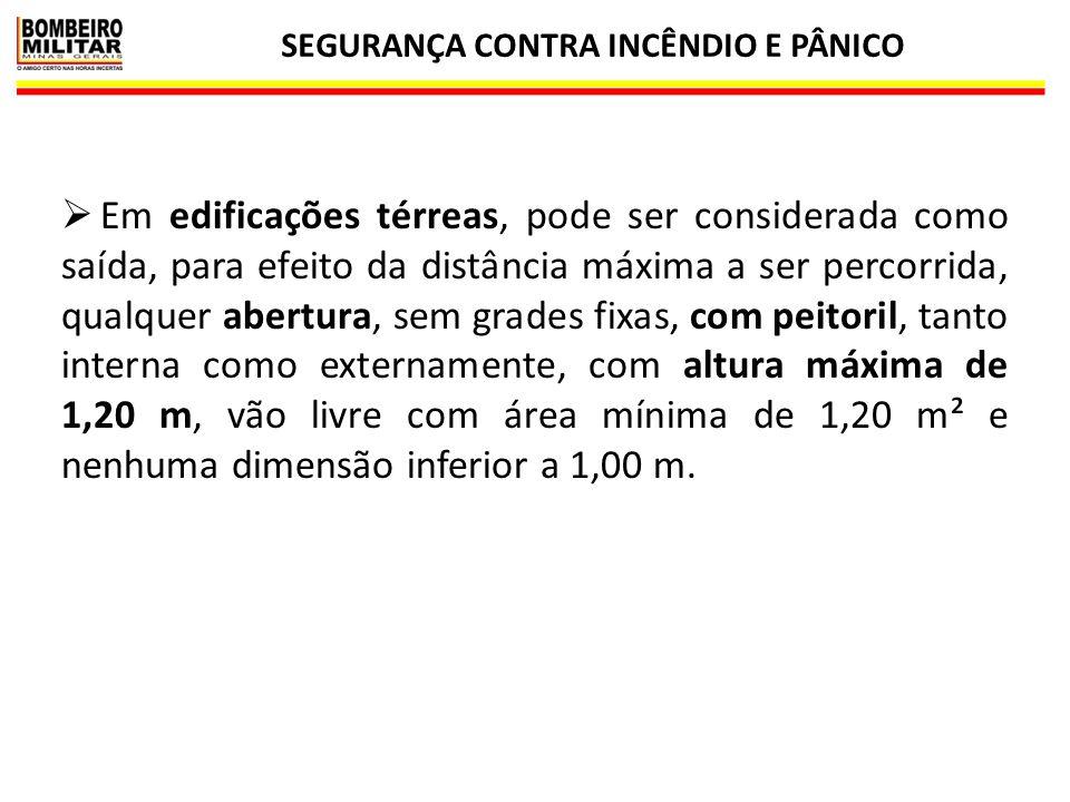 SEGURANÇA CONTRA INCÊNDIO E PÂNICO 31 NÚMERO DE SAÍDAS NOS PAVIMENTOS