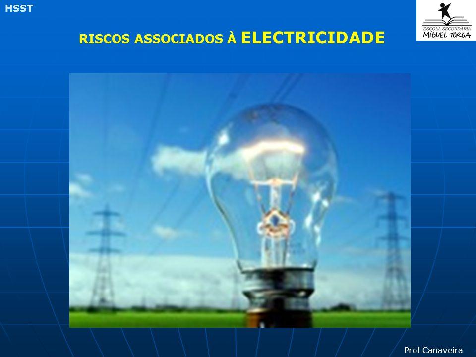 Prof Canaveira HSST RISCOS ASSOCIADOS À ELECTRICIDADE
