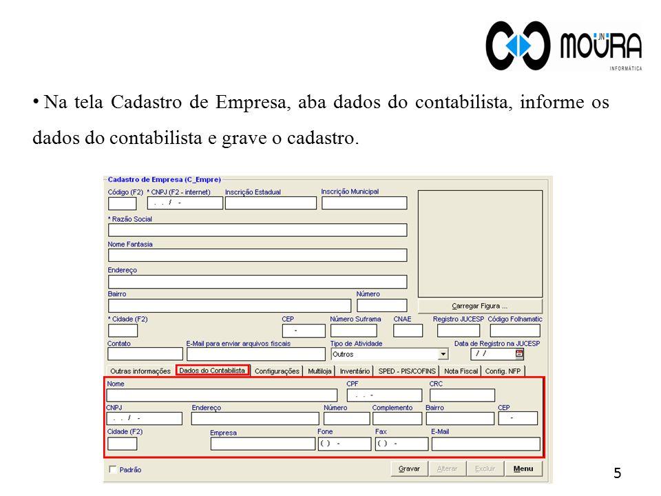 Pré-requisitos 2.Informar corretamente os dados do cliente.