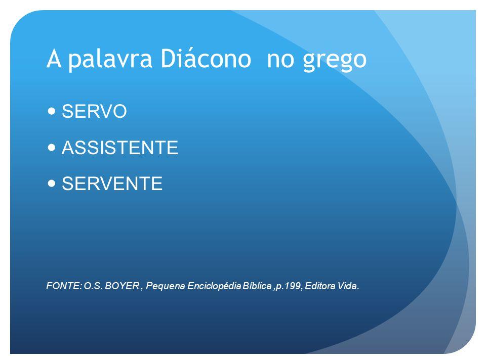 CURSO DIACONAL À DISTÂNCIA www.seminarioportadavida.com.br AMOR PREPARO DEDICAÇÃO EXCELÊNCIA COMPROMETIMENTO