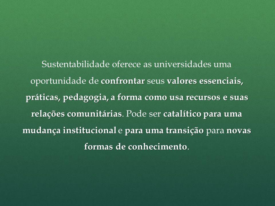 Nosso caso: Programa Metodista Sustentável