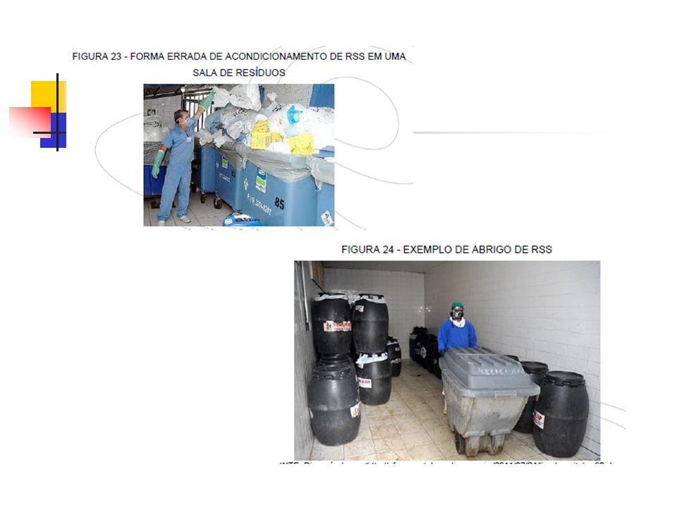 Armazenamento externo O armazenamento externo é feito em um local muitas vezes denominado de abrigo de contêineres de resíduos e consiste na guarda dos recipientes de resíduos até a realização da etapa de coleta externa, em ambiente exclusivo com acesso facilitado para os veículos coletores e próximo ao imóvel.