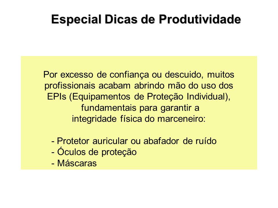 Por excesso de confiança ou descuido, muitos profissionais acabam abrindo mão do uso dos EPIs (Equipamentos de Proteção Individual), fundamentais para