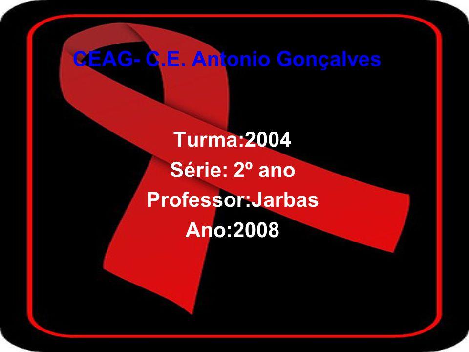 CEAG- C.E. Antonio Gonçalves Turma:2004 Série: 2º ano Professor:Jarbas Ano:2008