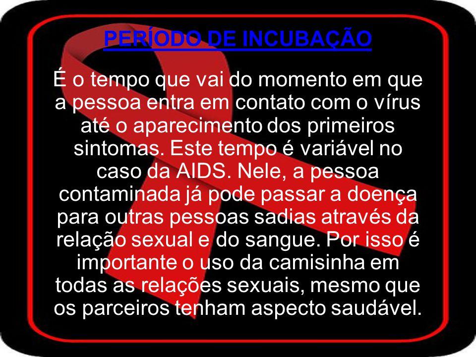 JANELA IMUNOLÓGICA É o período que o teste da AIDS pode dar negativo mesmo a pessoa estando infectada e transmitindo o vírus.
