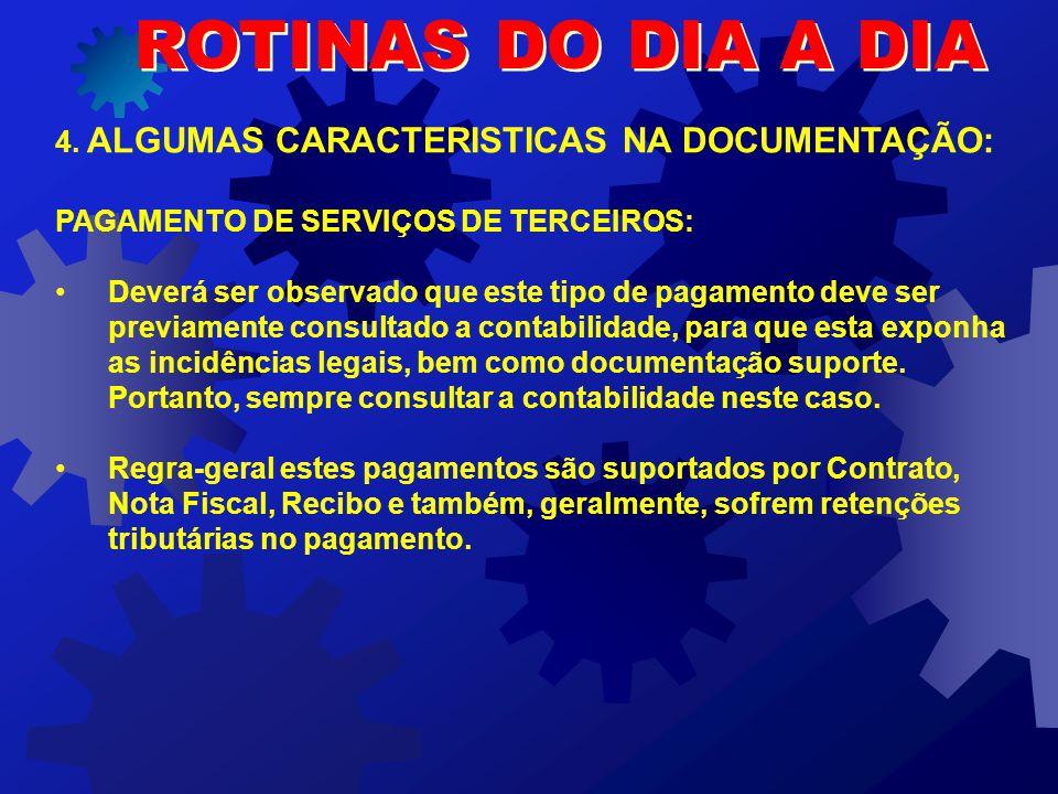 ROTINAS DO DIA A DIA 3.