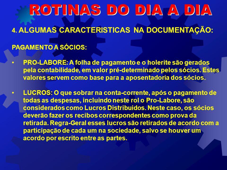 ROTINAS DO DIA A DIA 4.