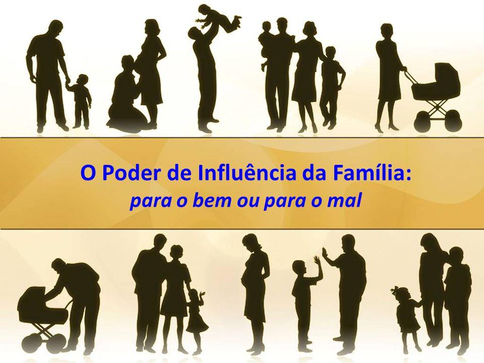 O Poder de Influência da Família: para o bem ou para o mal
