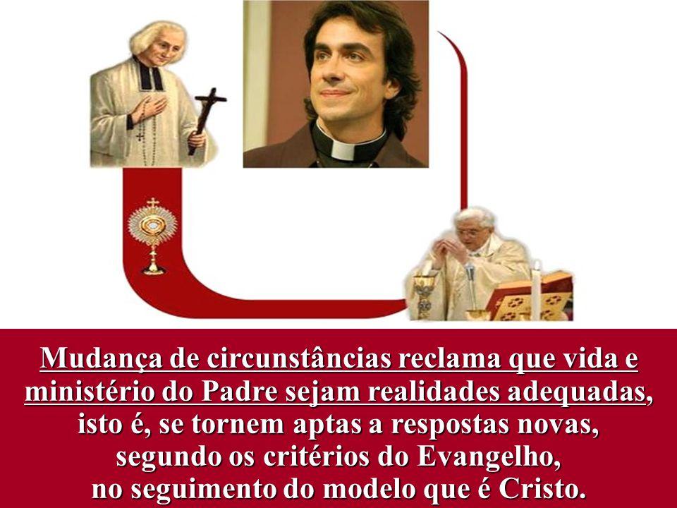 Os padres (como os outros fiéis) pertencem a Deus pelo Baptismo e pelo Crisma.