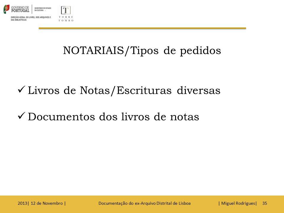 Testamentos Documentos arquivados a pedido das partes 2013| 12 de Novembro | Documentação do ex-Arquivo Distrital de Lisboa | Miguel Rodrigues|36