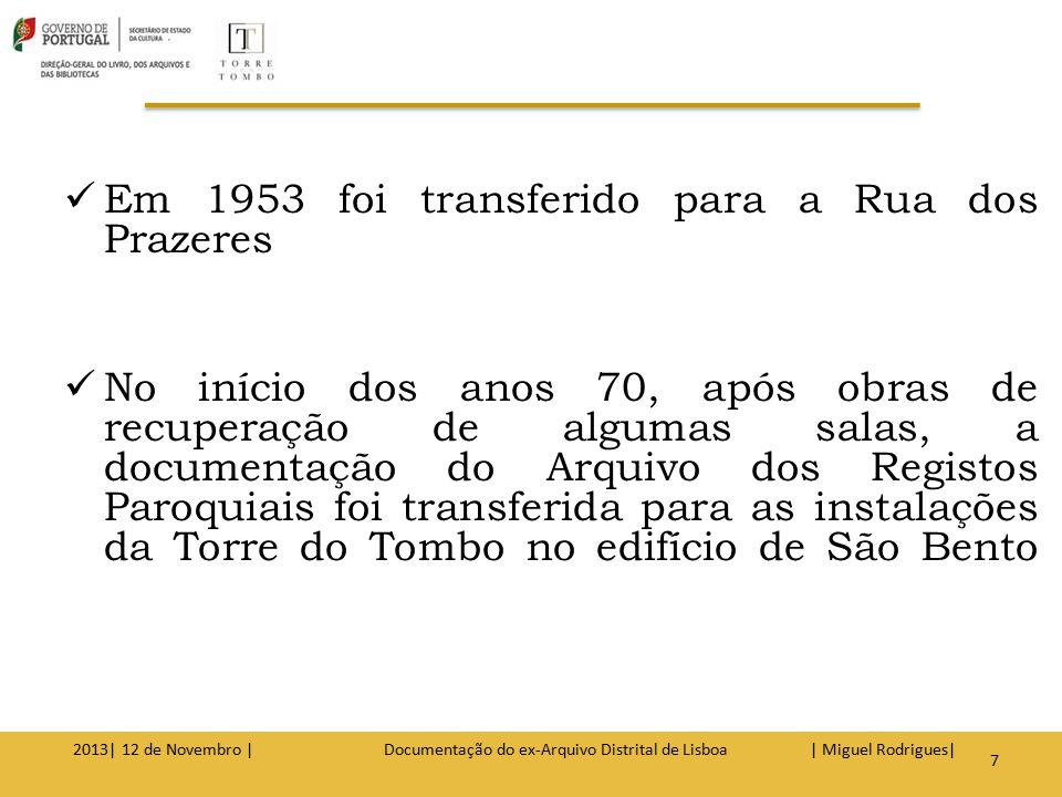Em 1985, o Decreto-Lei 424/85, de 22 de Outubro (Lei orgânica), veio proporcionar à Torre do Tombo algumas estruturas para responder às exigências de um moderno arquivo nacional.