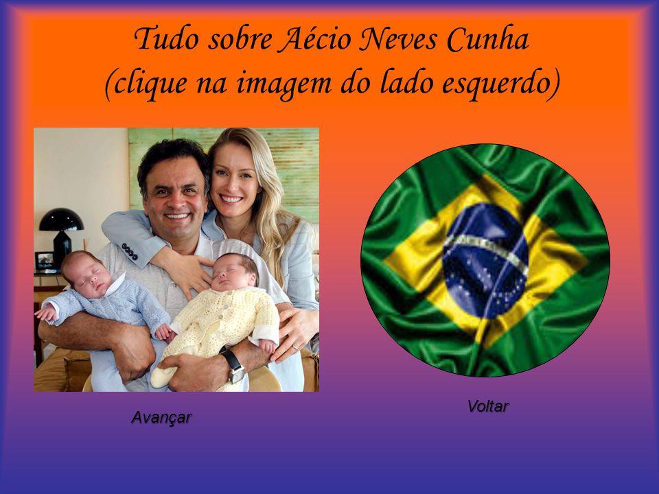 Tudo sobre Aécio Neves Cunha (clique na imagem do lado esquerdo) Voltar Avançar