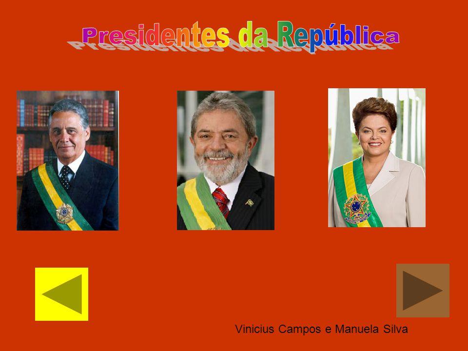 Vinicius Campos e Manuela Silva
