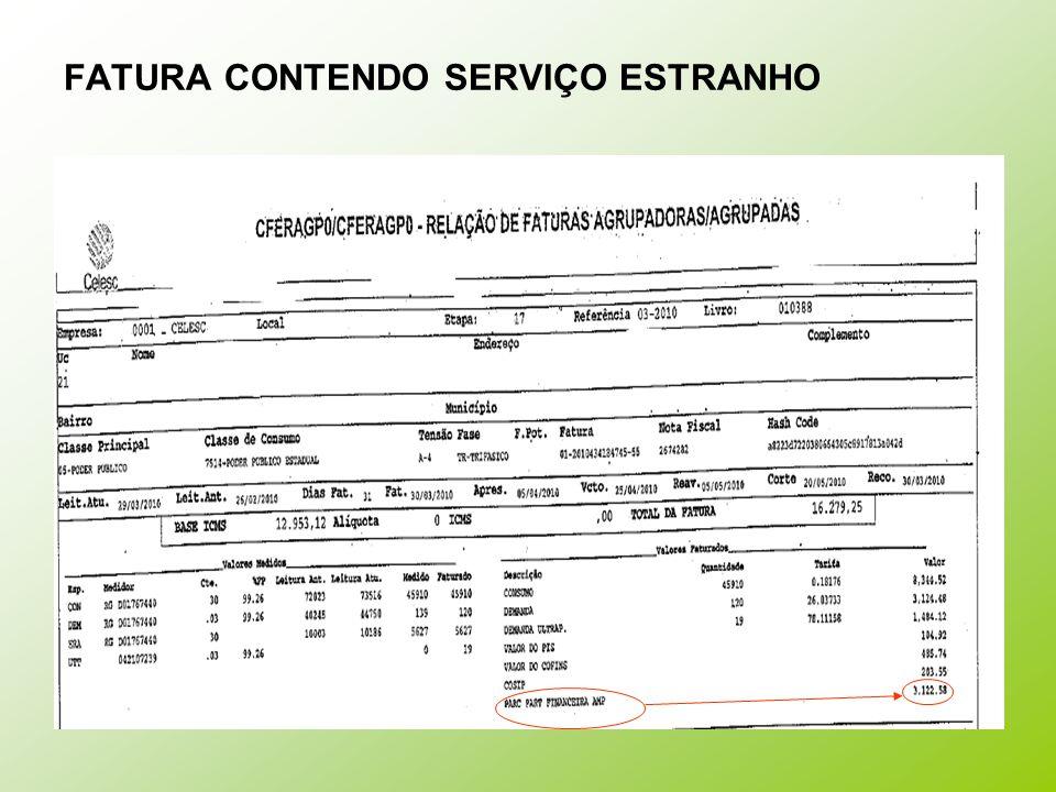 EXEMPLO DE TARIFAS GRUPO B – ANO 2008 Grupo de tensão: B Modalidade tarifária: convencional; Tarifa monômia: cobrança somente por consumo kWh.