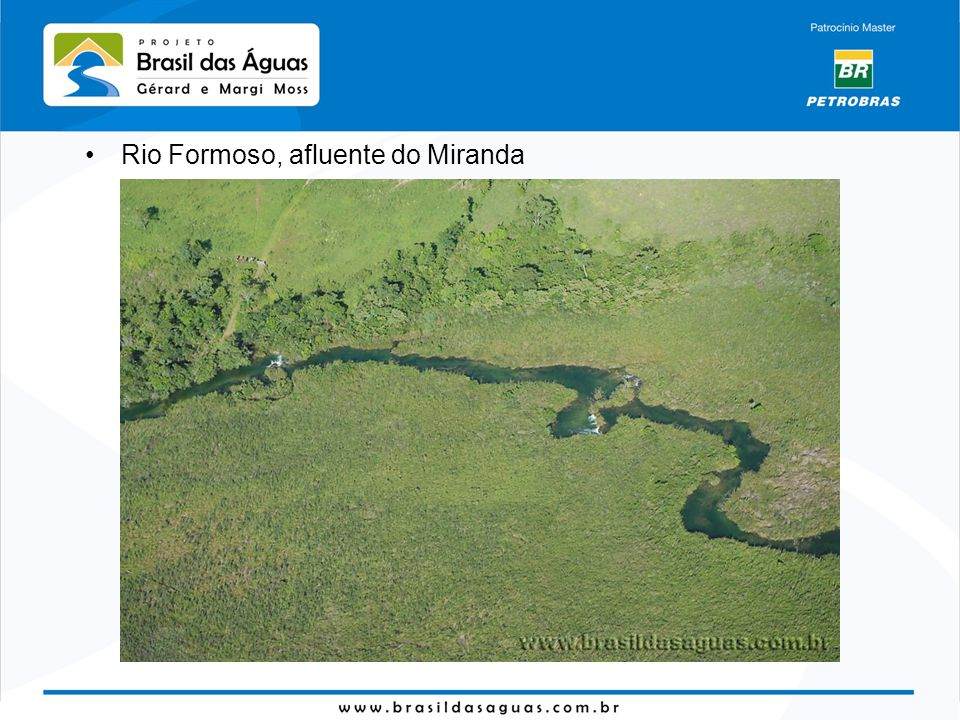 Rio Formoso, afluente do Miranda