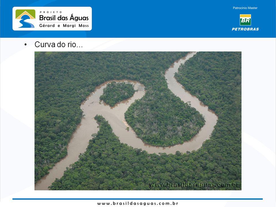 Curva do rio...