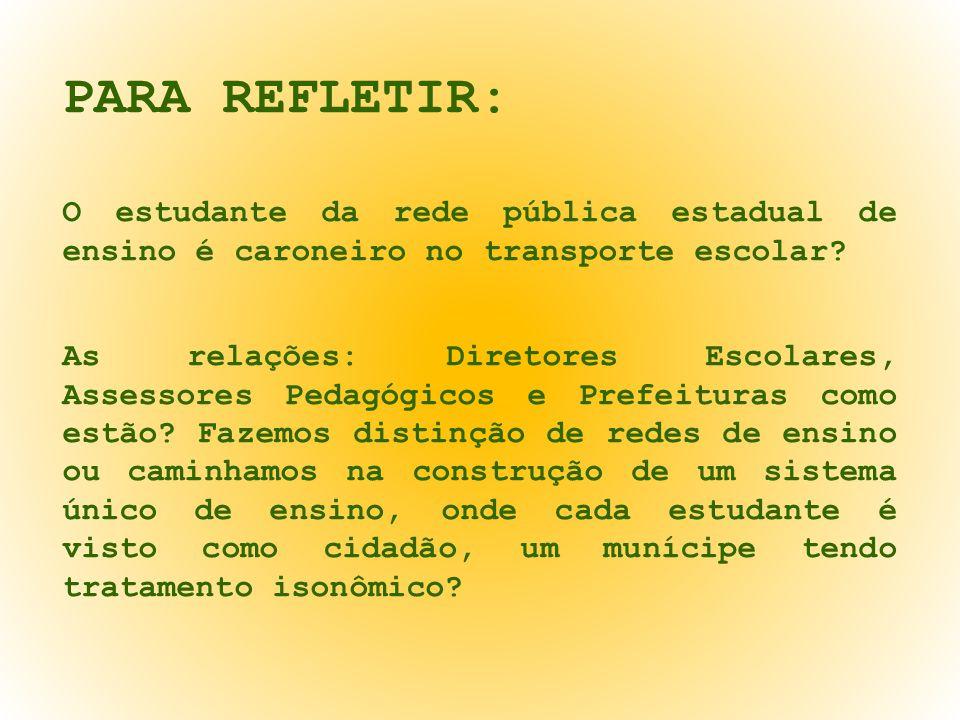 A COORDENADORIA DE TRANSPORTE ESCOLAR/SEDUC: Telefones: (65) 3613-6565 (65) 3613-6471 (65) 3613-6472 (65) 9929-9904 (65) 9633-7269 Endere ç o eletrônico: transporte.escolar@seduc.mt.gov.br adao.pereira@seduc.mt.gov.br celio.magalhaes@seduc.mt.gov.br custodio.marques@seduc.mt.gov.br dilma.nunes@seduc.mt.gov.br ivan.pires@seduc.mt.gov.br mirian.ferreira@seduc.mt.gov.br monica.oliveira@seduc.mt.gov.br oscalino.filho@seduc.mt.gov.br rildo.amorin@seduc.mt.gov.br rubens.anjos@seduc.mt.gov.br