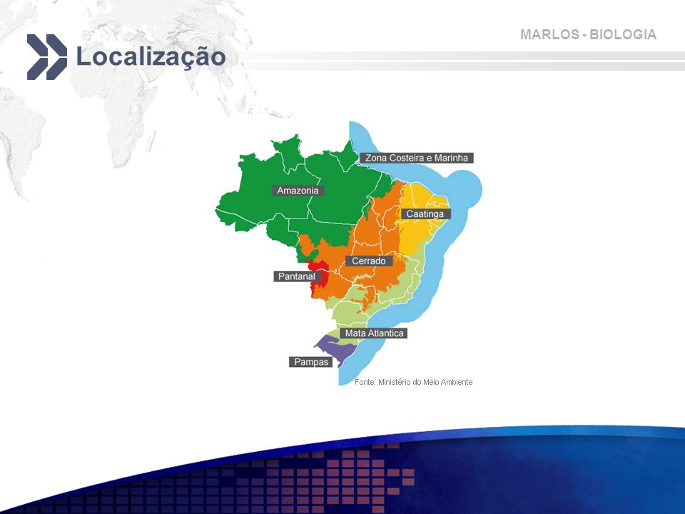 MARLOS - BIOLOGIA Localização