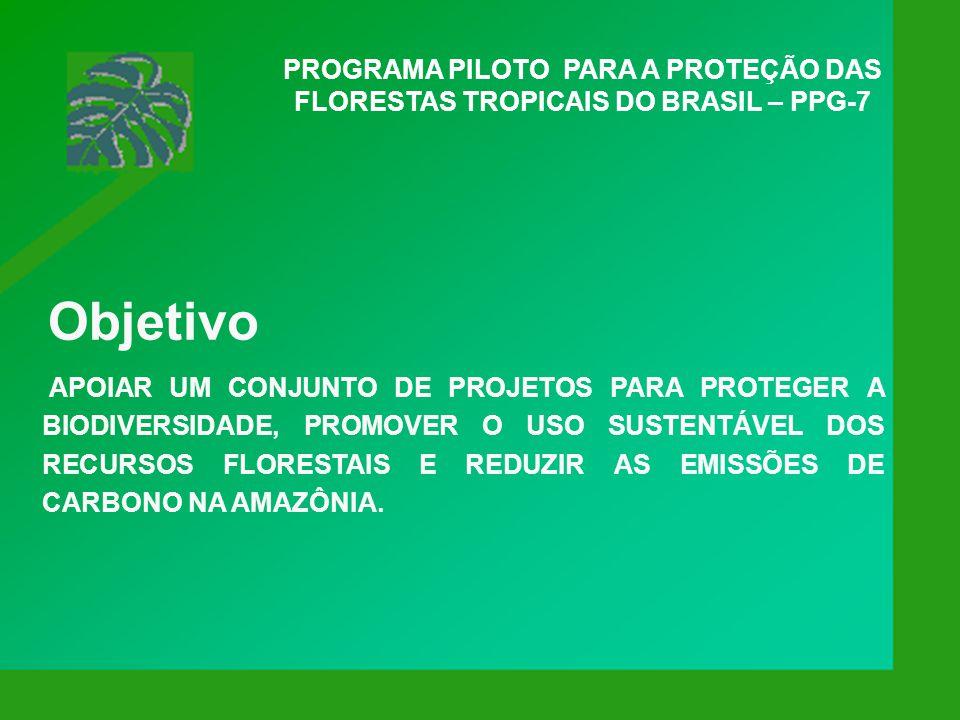 Programa Nacional do Meio Ambiente II Objetivos PROMOVER A PREVENÇÃO E CORREÇÃO DOS PROCESSOS EROSIVOS NA REGIÃO DAS NASCENTES DO ALTO ARAGUAIA; PROMOVER O ECOTURISMO; EXECUTAR A DISPOSIÇÃO ADEQUADA DOS RESÍDUOS SÓLIDOS; CAPACITAÇÃO DAS PREFEITURAS NA ÁREA DO ARAGUAIA.