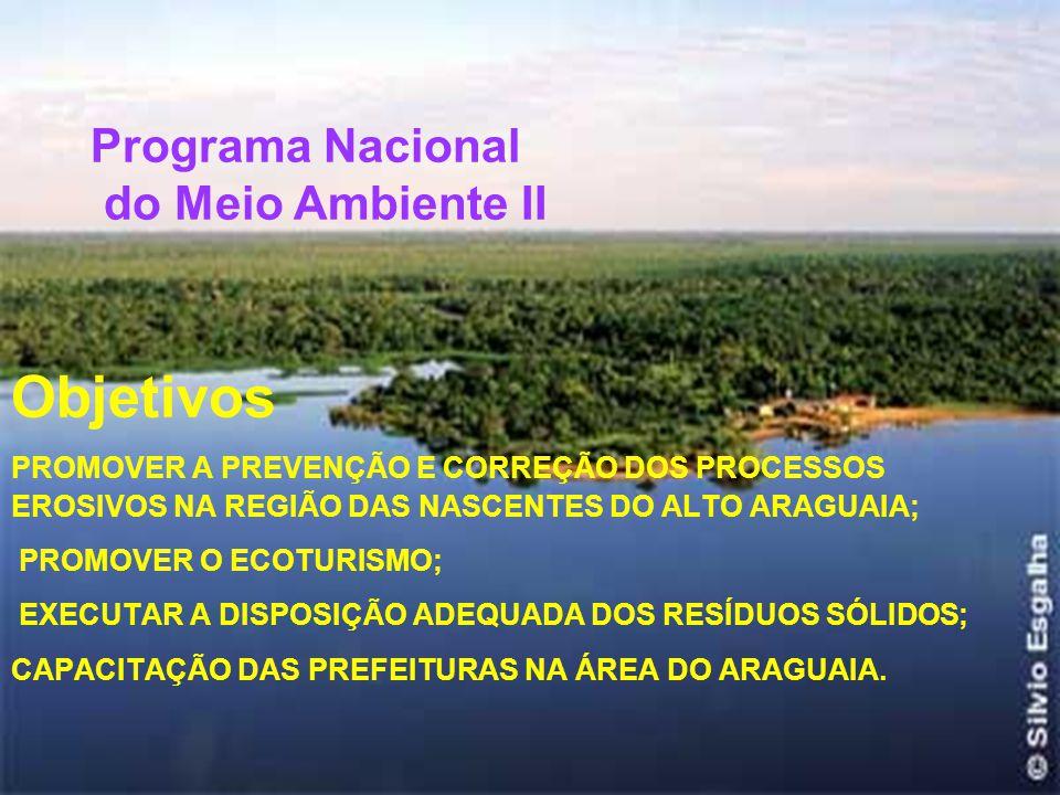 1. Gestão de Recursos Hídricos Objetivo PROMOVER A GESTÃO DAS ÁGUAS NA BACIA DO ALTO PARAGUAI,COM VISTAS A MANUTENÇÃO DA QUANTIDADE E QUALIDADE DOS RE