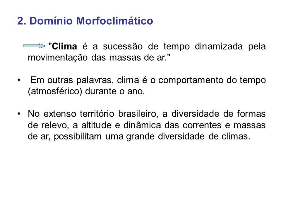 2. Domínio Morfoclimático
